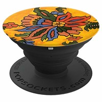 Folksy Floral Print - PopSockets Grip and Stand for Phones and Tablets