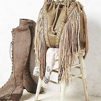 Free People Womens Isadora Fringe Bag