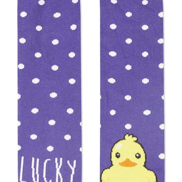 Lucky Duck Ankle Socks - New In This Week - New In