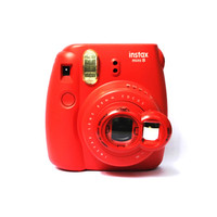 Selfie Mirror Close Up Lens Red for Fujifilm Instax Mini 8 7s Polaroid Instant Cameras