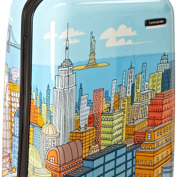Samsonite Luggage NYC Cityscapes Spinner 20 Blue Print One Size '