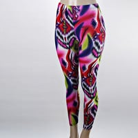 Neon Printed Leggings