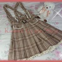 Liz Lisa Plaid Jumper Skirt