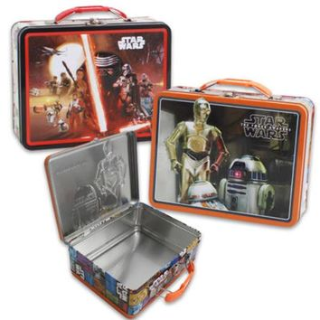 Star Wars Embossed Lunch Box - CASE OF 12