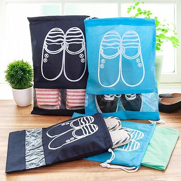 Shoes Bags for Organizer Girls Women Storage Bag travel set Cover for clothes Dustproof Cover Non-Woven Fabric