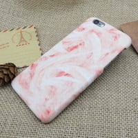Pink Marble Stone iPhone 5se 5s 6 6s Plus Case Cover + Nice Gift Box 275