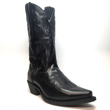 "Laredo ""6860"" Snip-Toe Leather Cowboy Boot"