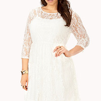 Enchanted Lace Babydoll Dress