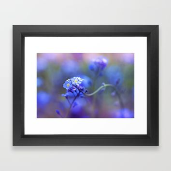 Aura Framed Art Print by Kristopher Winter