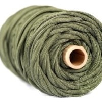 """TOUGH-GRID 750lb Camo Green Paracord / Parachute Cord - This Is The Genuine """"Mil Spec"""" Type IV 750lb Paracord Used & Certified by the US Military (MIl-C-5040-H). It Is The Best Paracord Available. See Our Many Expert Reviews. 100Ft. - Camo Green"""