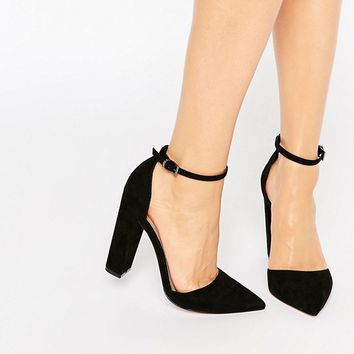 ASOS PENALTY Pointed High Heels at asos.com