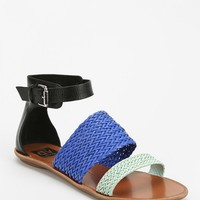 Dolce Vita Vera Woven Ankle-Wrap Sandal - Urban Outfitters