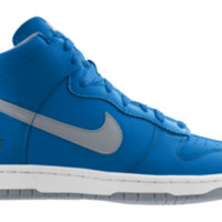 Nike Dunk High NFL Detroit Lions iD Custom Kids' Shoes - Blue