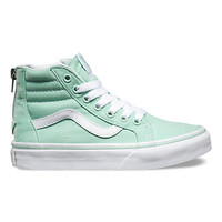 Kids SK8-Hi Zip | Shop Girls Shoes at Vans