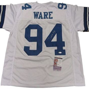 ESBONY Demarcus Ware Signed Autographed Dallas Cowboys Football Jersey (JSA COA)