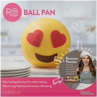 Rosanna Pansino™ Baking by Wilton® Ball Pan, 6 Inch Diameter