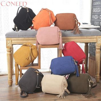 CONEED Fashion Handbags Charming Nice  Womens Leather Shoulder Bag Satchel Handbag Tote Hobo Crossbody Bags May29 Y25