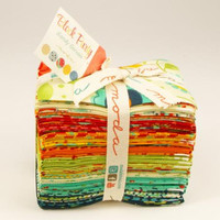 Block Party Fat Eighth Bundle by Sandy Gervais for Moda Fabrics
