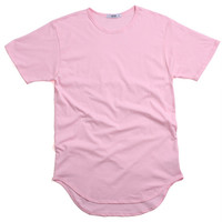 Original Long T-Shirt Cotton Candy Pink