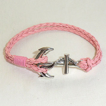 Anchor Bracelet Nautical Bracelet Anchor Jewelry Nautical Jewelry Anchor charm Anchor bracelet women Anchor rope bracelet
