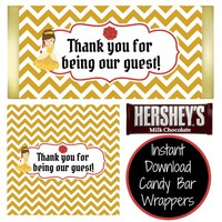 Belle Candy Bar Wrappers | DIY | Instant Download