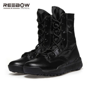 Tactical Lightweight Military Boots Men US Army Hunting Trekking Camping Mountaineering Durable Breathable
