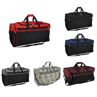 "DALIX 25"" Extra Large Vacation Travel Duffle Bag (Black, Grey, Navy Blue, Red, Camo, Maroon)"