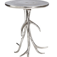 Willow Table Silver Aluminum