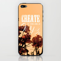 Create your own joy iPhone & iPod Skin by Louise Machado
