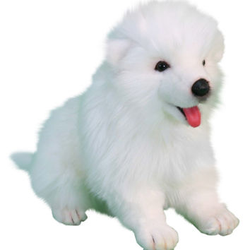 Hansa Toys Samoyed Puppy Collectible Plush Toy | zulily