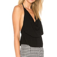 by the way. Clementine Open Back Top in Black | REVOLVE