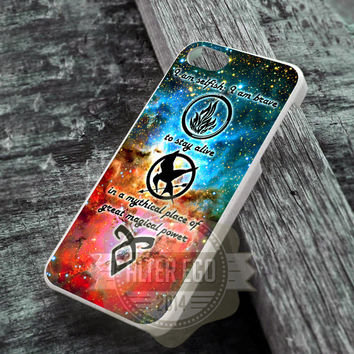 mortal instrument, hunger game and divergent - iPhone 4/4s/5/5s/5c Case - iPod 4/5 Case - Samsung Galaxy S2/S3/S4 Case - Black or White