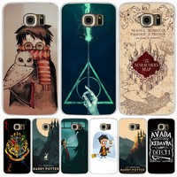 09286 Marauders Map Harry Potter DEATHLY HALLOW QOUTES cell phone case cover for Samsung Galaxy S7 edge PLUS S8 S6 S5 S4 S3 MINI