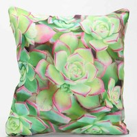 Lisa Argyropoulos for DENY Succulent Pillow - Green One