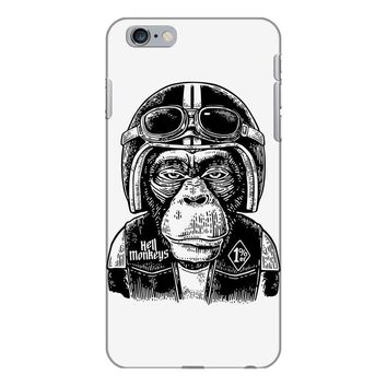 monkey in the motorcycle iPhone 6 Plus/6s Plus Case