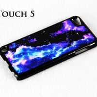 Unique Nebula Galaxy iPod Touch 5 Hard Cover Case by ACYC on Etsy