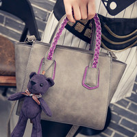 Winter Korean Tote Bag Casual Shoulder Bags Messenger Bags [6582875847]