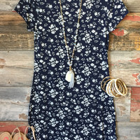 Fun in the Sun Tunic Dress: Floral