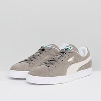 Puma Suede Classic sneakers in gray 35263466 at asos.com