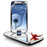 TOOGOO 2 x Mirror Screen Protector For SamsungGalaxy S3 SIII I9300