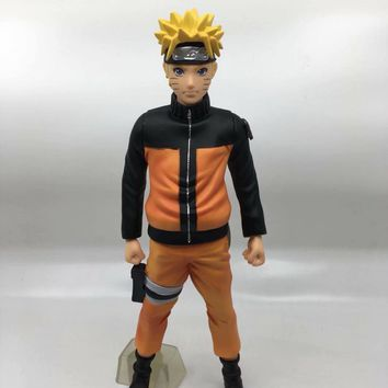 Naruto Sasauke ninja Anime  Action Figure Uzumaki  Limited Edition Model Dolls Decoration Pvc Collection Figurine Toys for Gifts 29cm AT_81_8