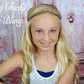 Tween Pewter Strands Headband