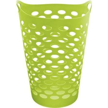 Mainstays Juvenile 2 BU Flex Hamper, Lime