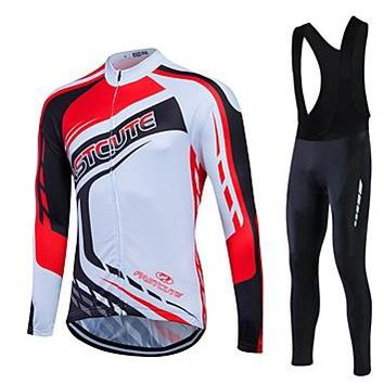 Winter Thermal Fleece Cycling Jersey Sport Ropa Ciclismo Invierno Breathable MTB Long Sleeve Bicycle Clothing and Pant