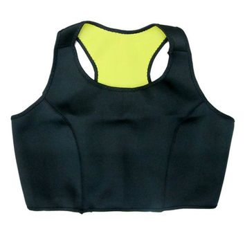 Running Vests Jogging Hot Shapers Running Tight Fitness Sports Vest Bra Spandex Short Vest Shapewear slimming thermo cami hot slim belt Neoprene Sweat KO_11_1