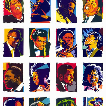 In Celebration of African-American Music 11x17 Movie Poster (1992)