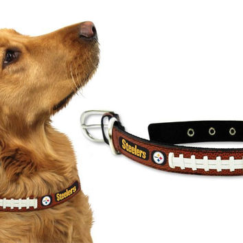 Pittsburgh Steelers Dog Collar - Large