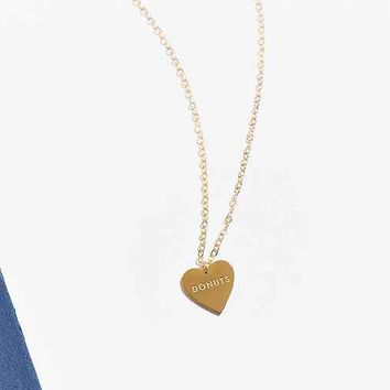 UO Souvenir X Seoul Little Heart Necklace