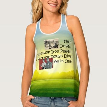 TOP Golf Diva All in One Tank Top