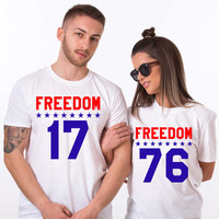 4th of July, 4th of July shirt women, 4th of July outfit, Matching shirts, fourth of July, UNISEX
